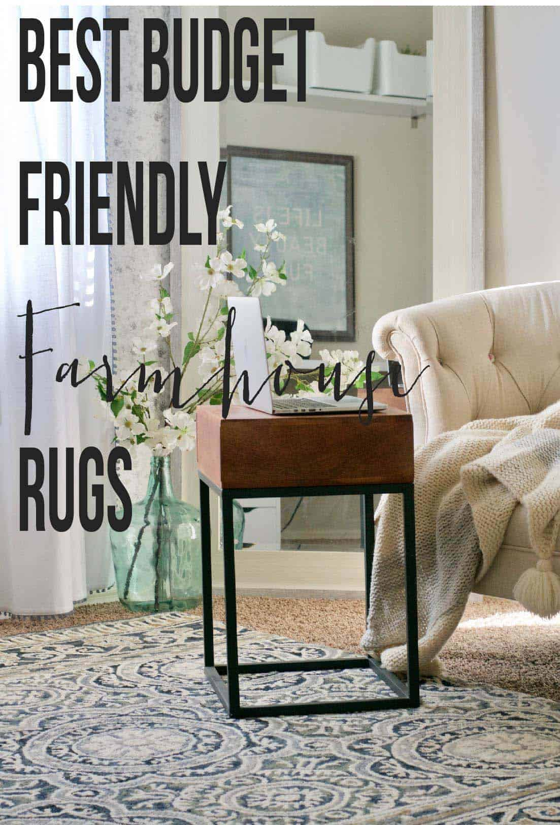 Farmhouse rugs rugs ideas for Farmhouse style kitchen rugs