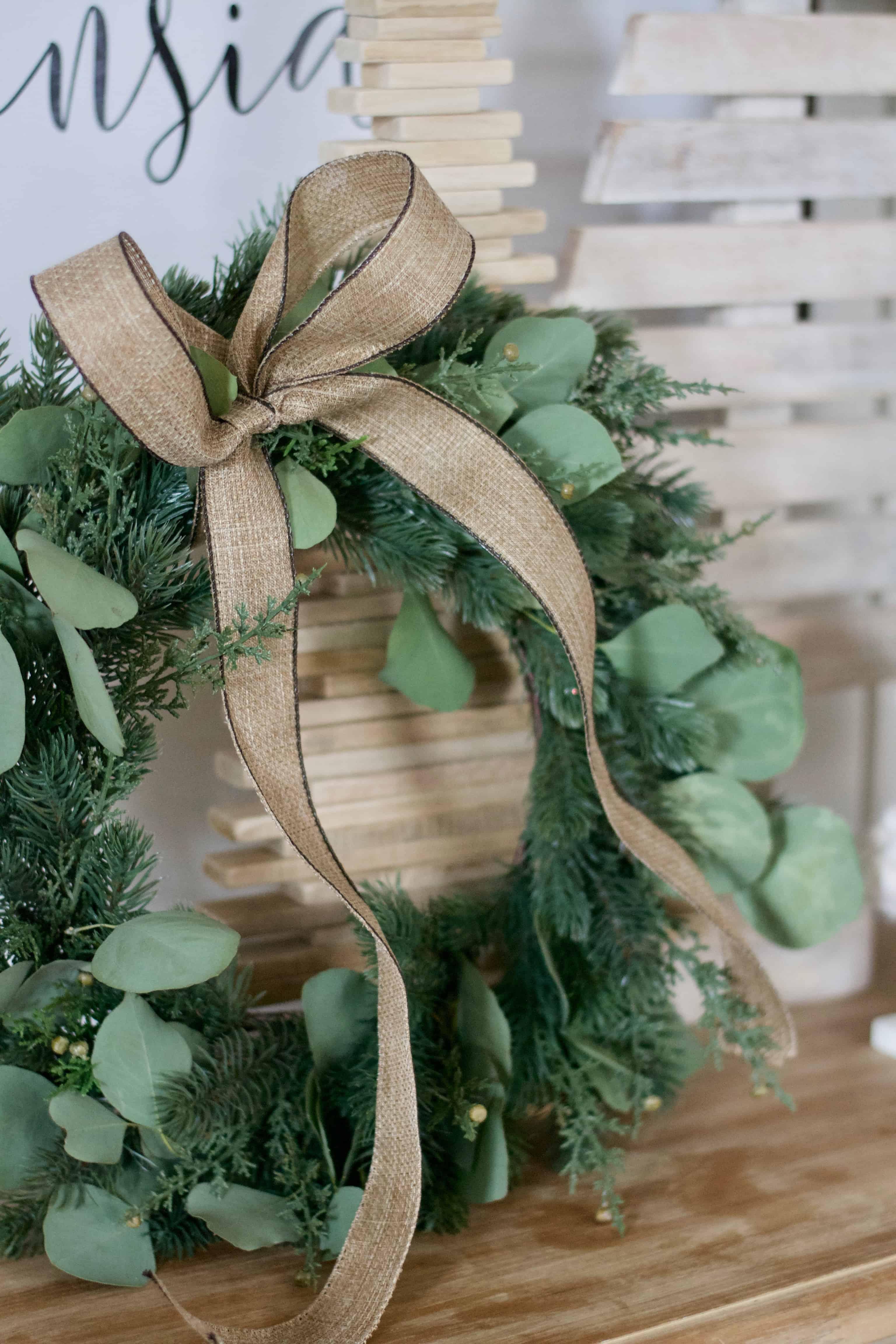 Inexpensive Christmas Wreaths