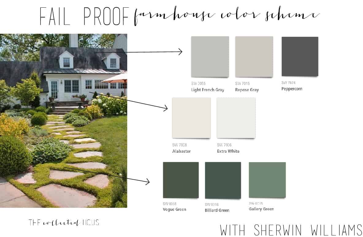Fail Proof Farmhouse Color Schemes The Collected House