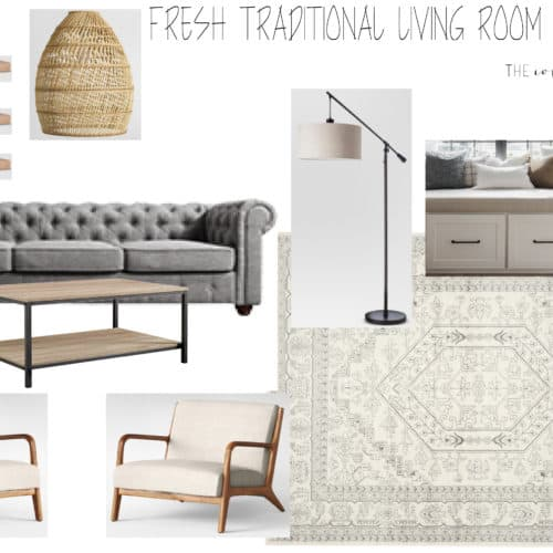 Fresh Living Room Inspo. The Collected House.