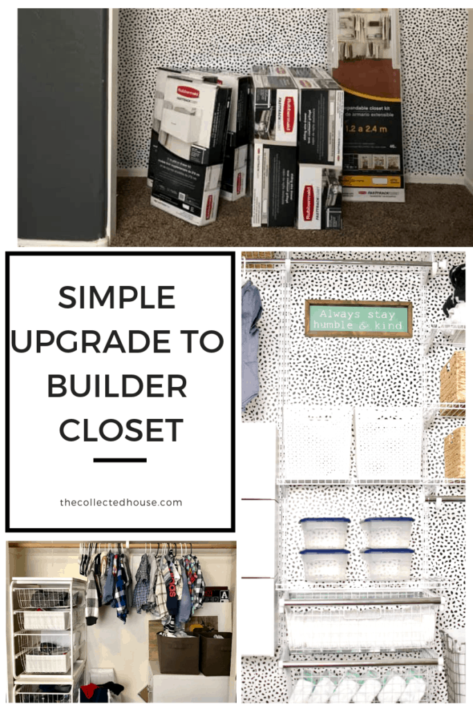 upgrade your builder grade closet!