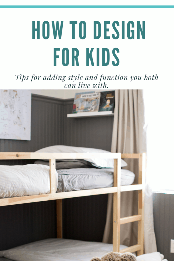 How to design for kids title