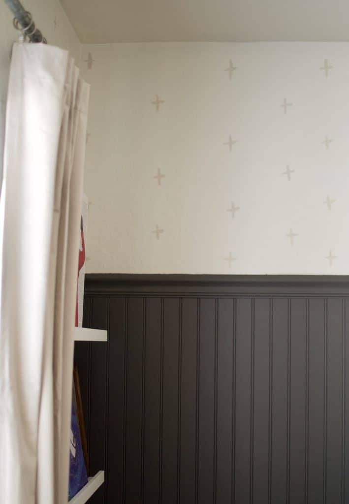 DIY Painted Wallpaper Tutorial