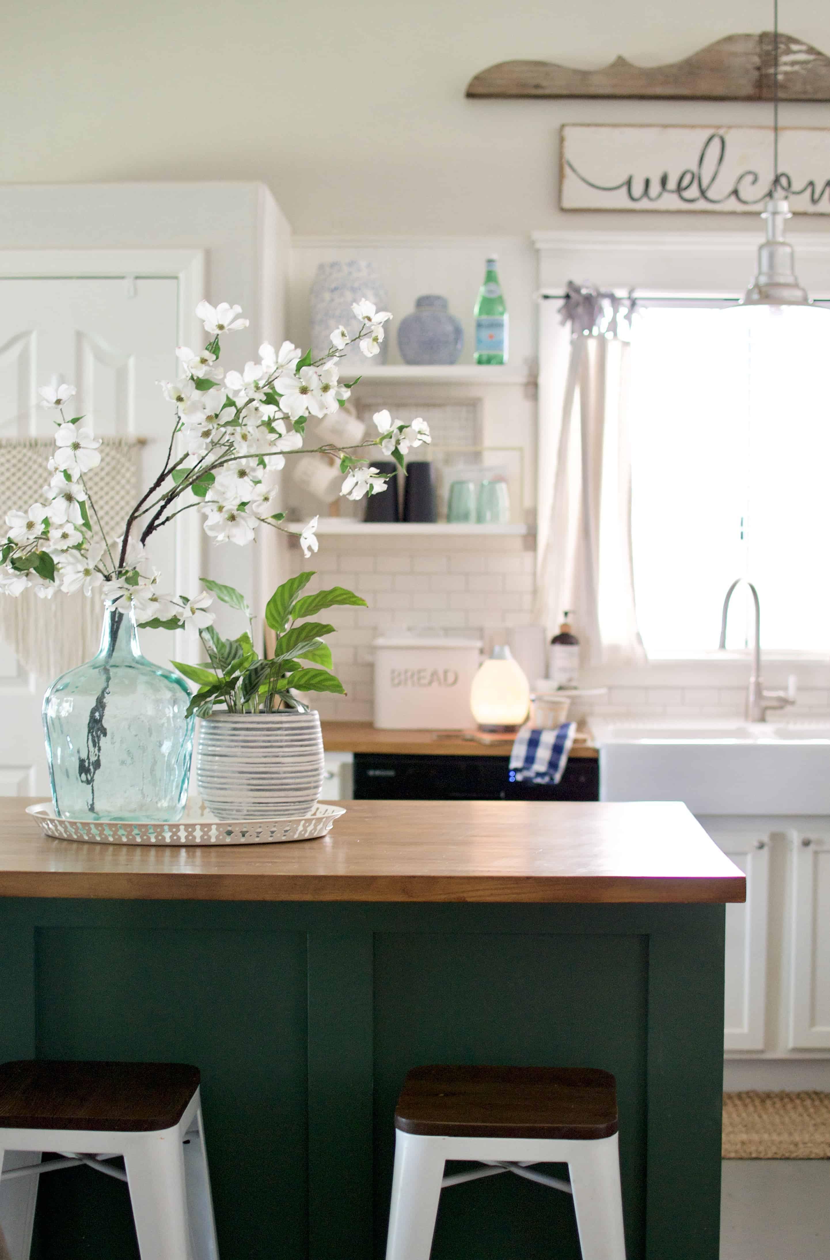 Kitchen Shelf Styling Tips.