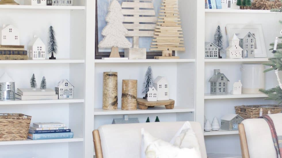 Neutral + Simple Christmas Village