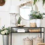 How to make a simple and classic christmas entry way tips and tricks