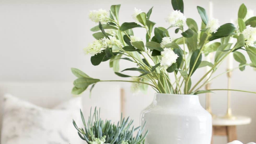 Realistic + affordable spring floral stems