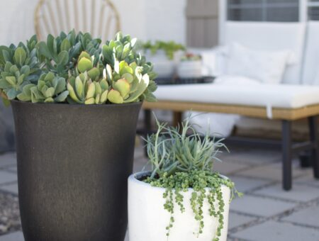 How to make a DIY patio with pavers and pea gravel