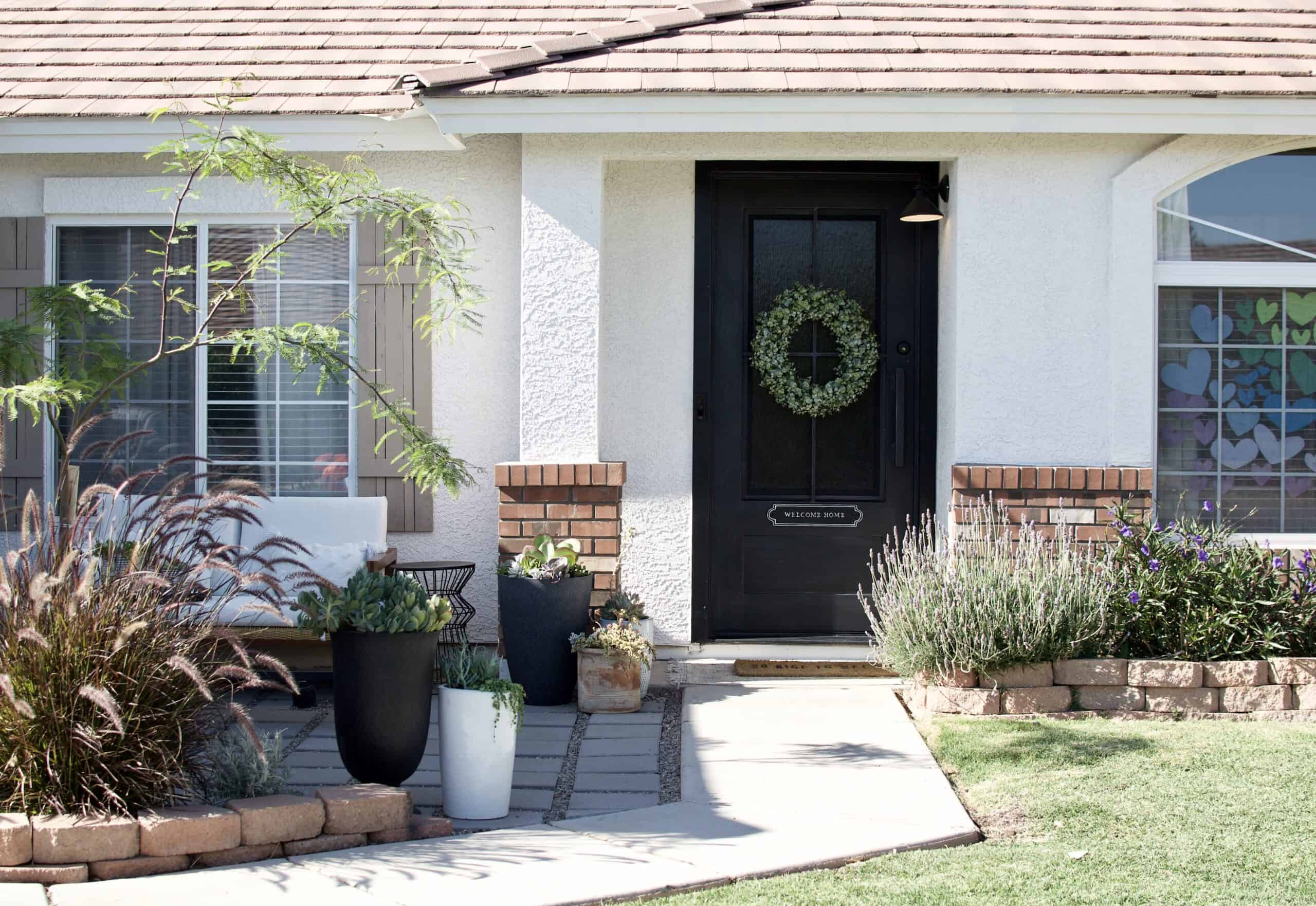DIY Paver front porch inspiration