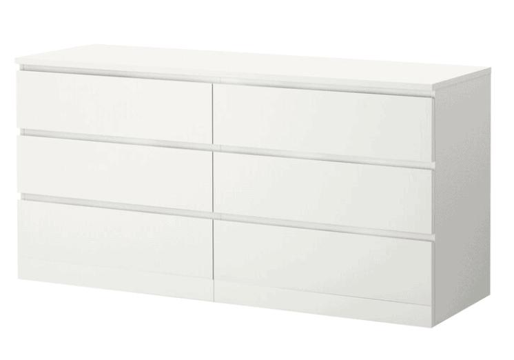 Ikea Malm Dresser Hack