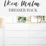 How to DIY ikea dresser